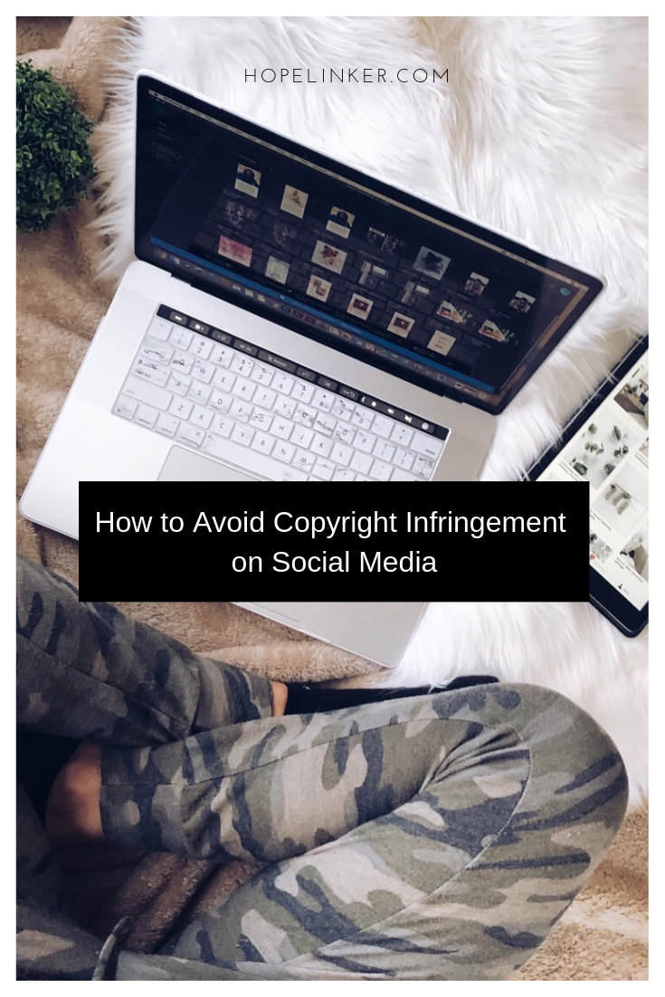 social media copyright infringement