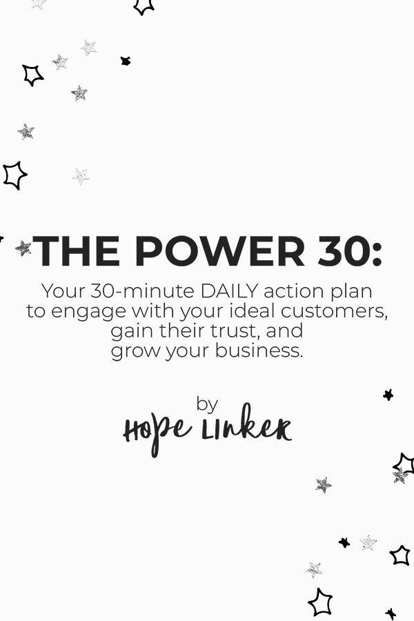 The Power 30: Your 30-Minute Daily Action Plan to Engage With Your Customers
