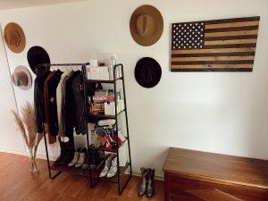 small closet ideas bohemian western